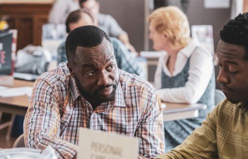 God Friended Me's Malik Yoba Wants Us To Tell Our Stories